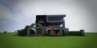 Modern house by KenyukiCreations