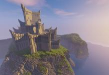 Dragonstone castle from Games of Thrones