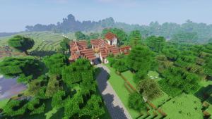 France Chateau - Jardins du Chateau du Pin - Village