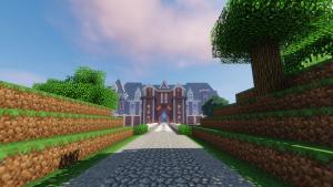 France Chateau - Jardins du Chateau du Pin - Path