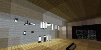 Modern lights mod in modern house