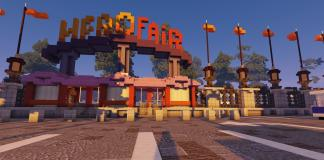HeroFair Amusement park map