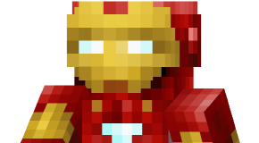 Ironman skin for Minecraft