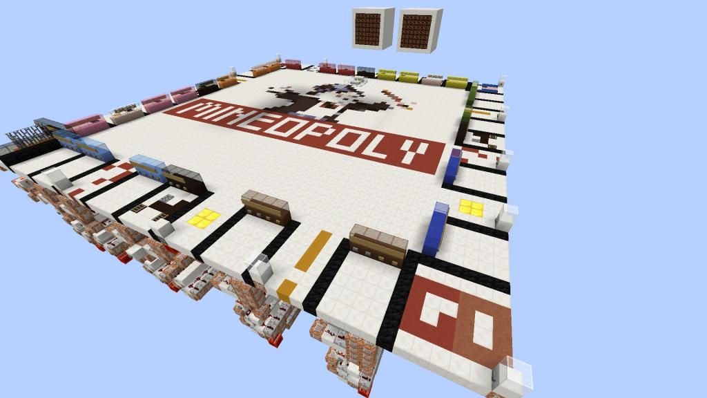 Mineopoly board game Monopoly for Minecraft screenshot 3