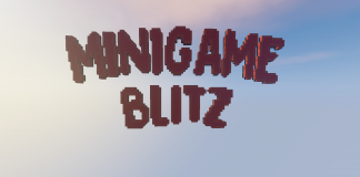 Minigame Blitz map