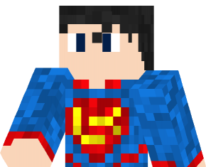 Superman skin 3d for Minecraft