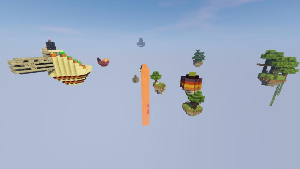Floating Islands map - screenshot 2