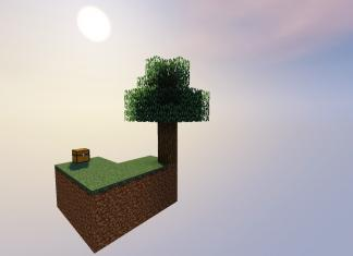 SkyBlock 1.12.2 map for Minecraft