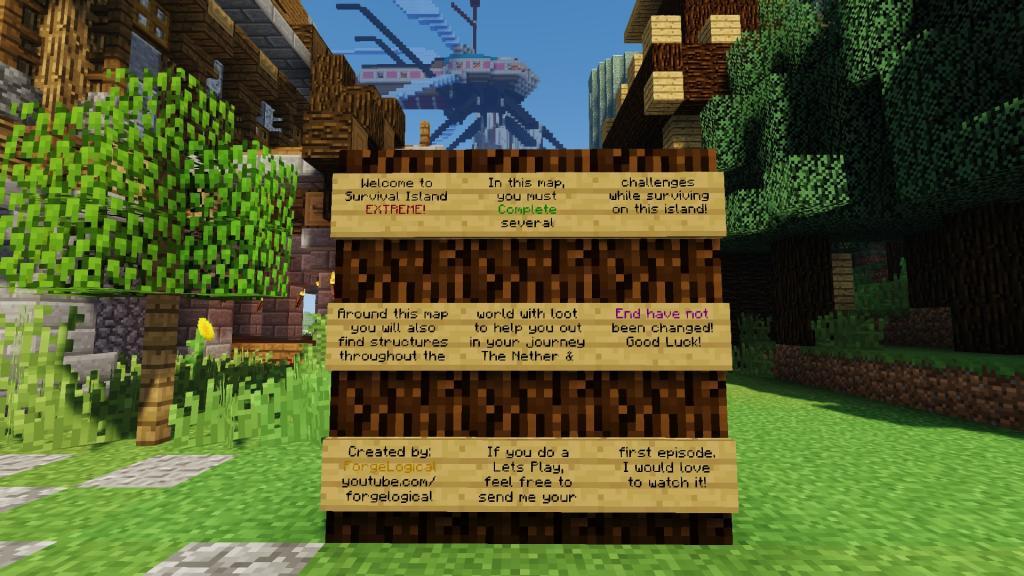 Survival Island Extreme map - screenshot 2
