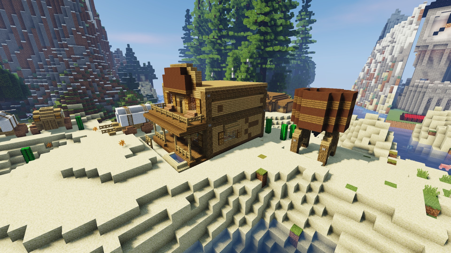 Survival Island Extreme map for Minecraft 1 12 2 - yet