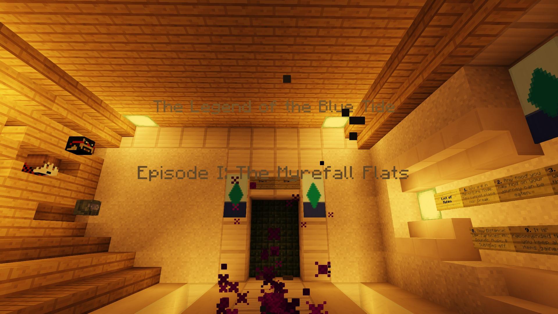 The Legend of the blue Tide: Episode 1 map - screenshot 1