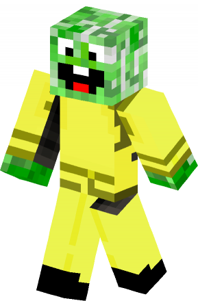 Happy Creeper skin