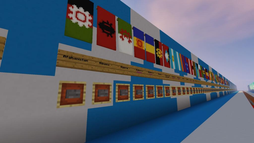 National Flags map - screenshot 2