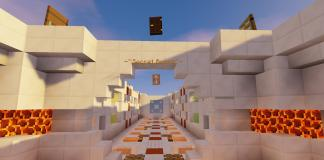 Secret Rooms map - Puzzle Minecraft map screenshot 1