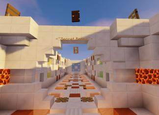Secret Rooms map - Puzzle Minecraft map screenshot 1