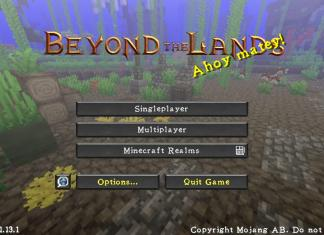 Beyond The Lands Resource Pack