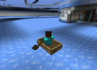 Boat Rage map for Minecraft