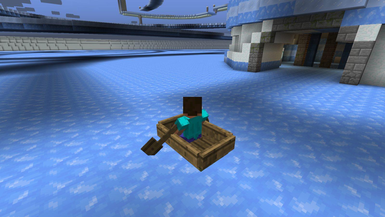 Лодка в майнкрафт картинки
