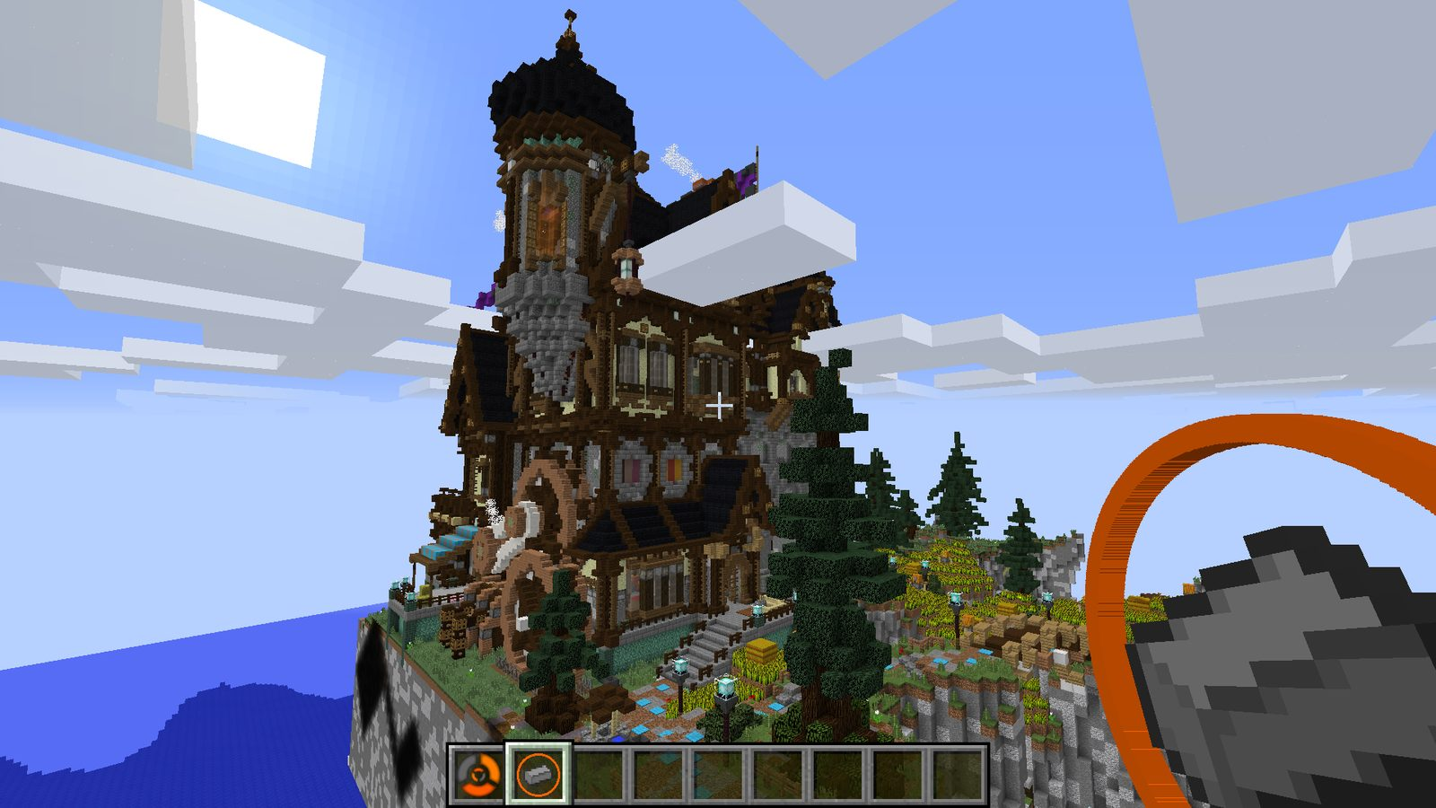 Instant Structures mod 1 12 2 for Minecraft - build gorgeous