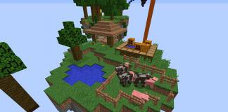 Island Parkour map for Minecraft
