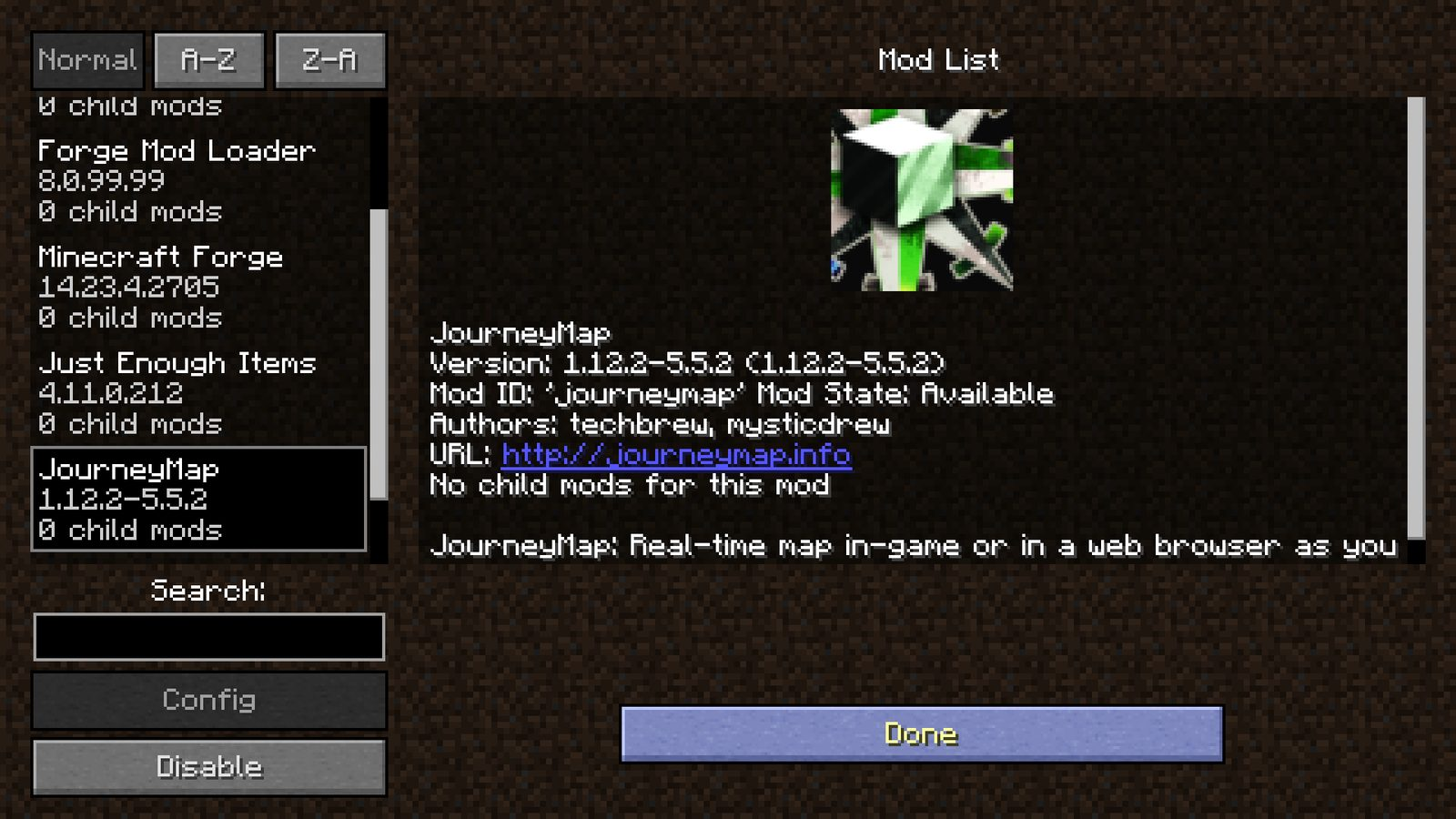 JourneyMap Mod For Minecraft Realtime Mapping Mod - Journey map para minecraft 1 10 2