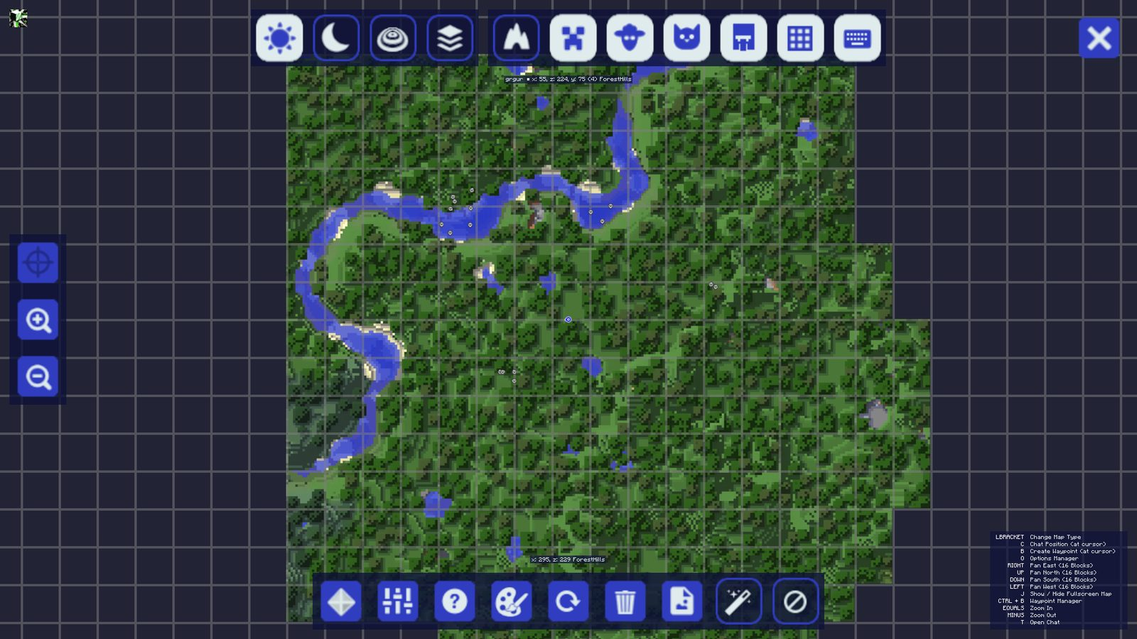 JourneyMap Mod For Minecraft Realtime Mapping Mod - Journeymap map para minecraft 1 11