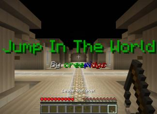 Jump in the World map for Minecraft