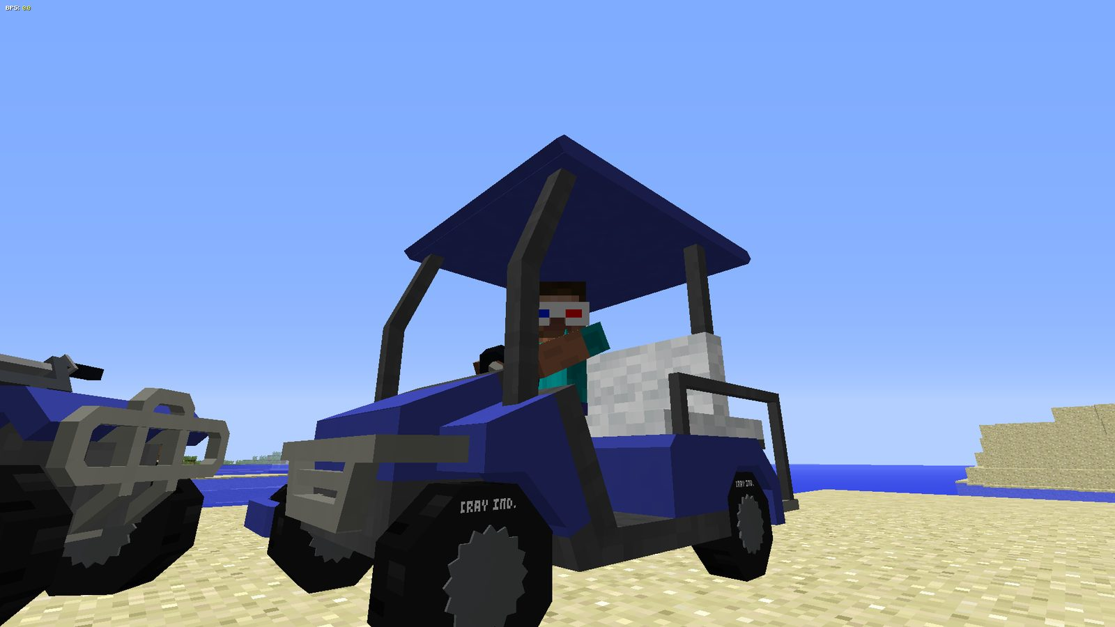 MrCrayfish's Vehicle mod 1 12 2 for Minecraft - drive and fly
