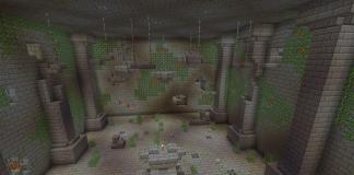 Prison of the Monster map - Minecraft adventure map