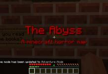 The Abyss map for Minecraft