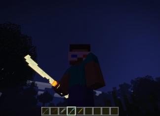 3D Swords pack for Minecraft