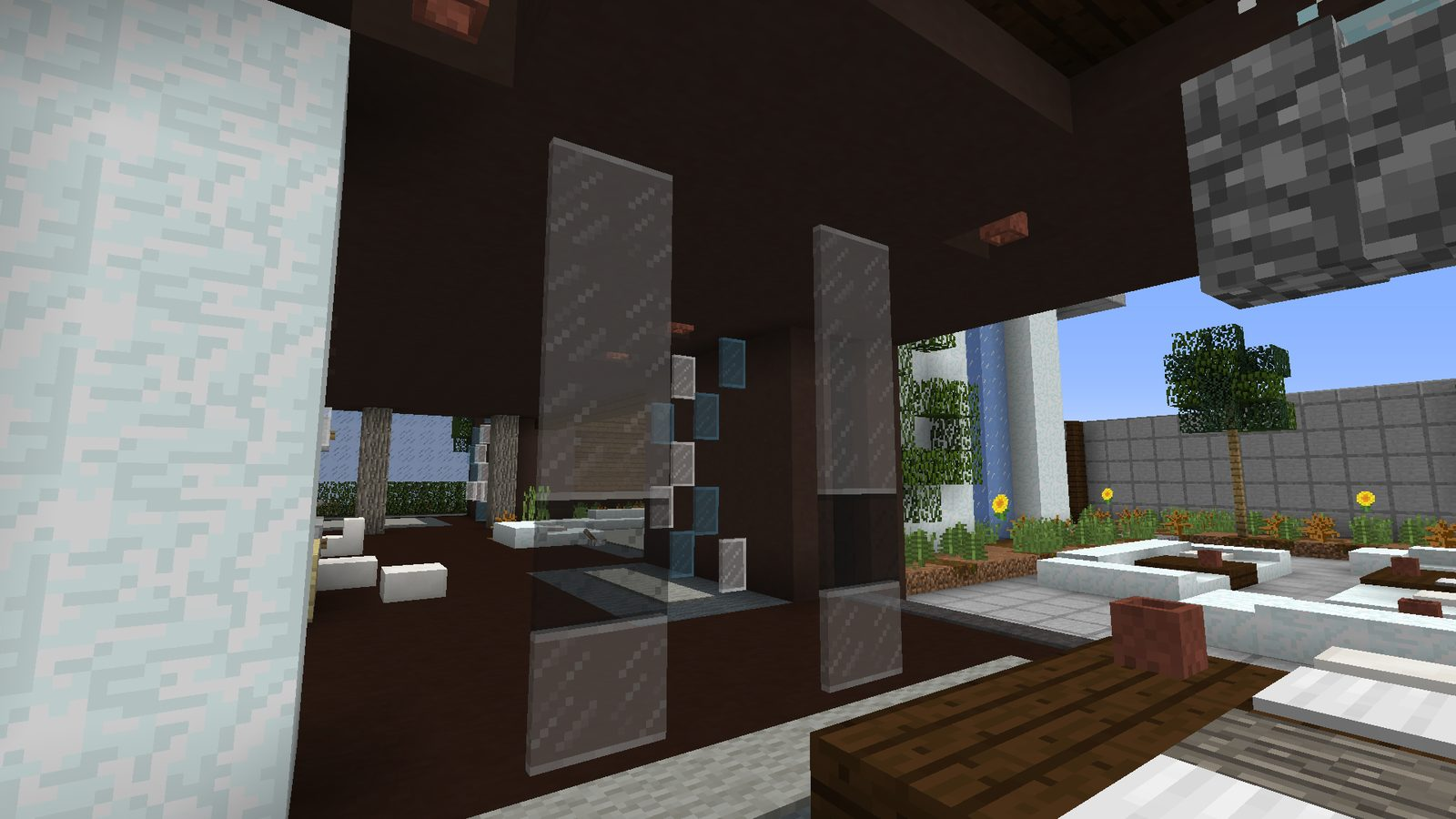 Clear Glass with Connected Textures Resource pack for