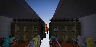 Find the Button Duel map for Minecraft