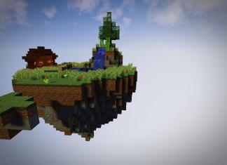 Island Run map for Minecraft