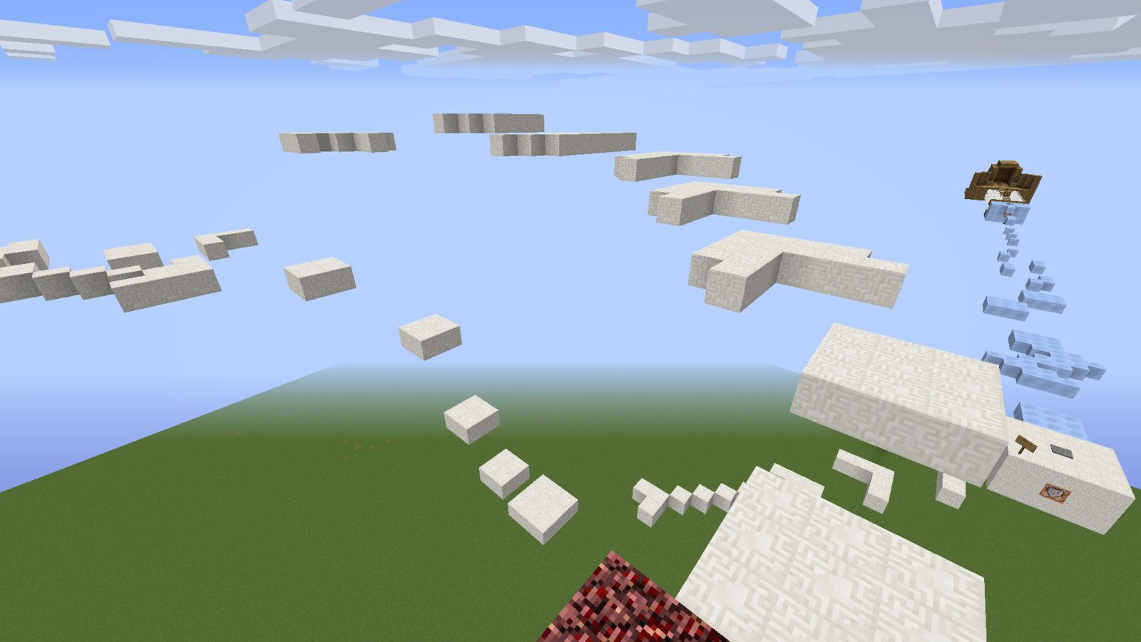 Learn to Jump map for Minecraft