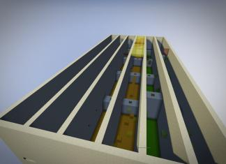 Legopitstop Parkour map for Minecraft