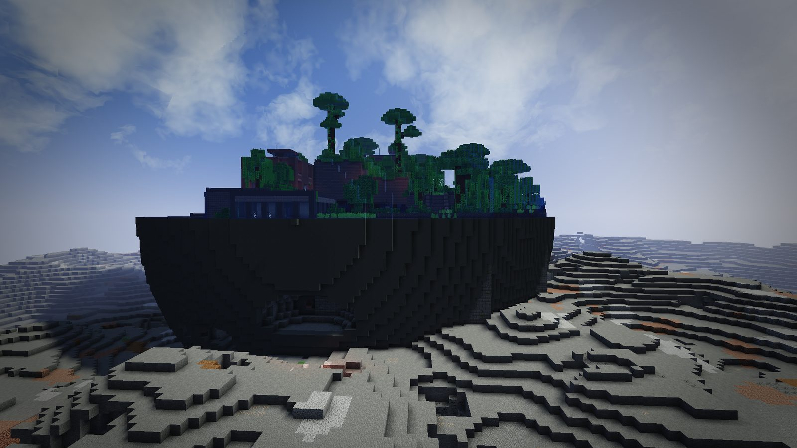 Lost Cities mod for Minecraft