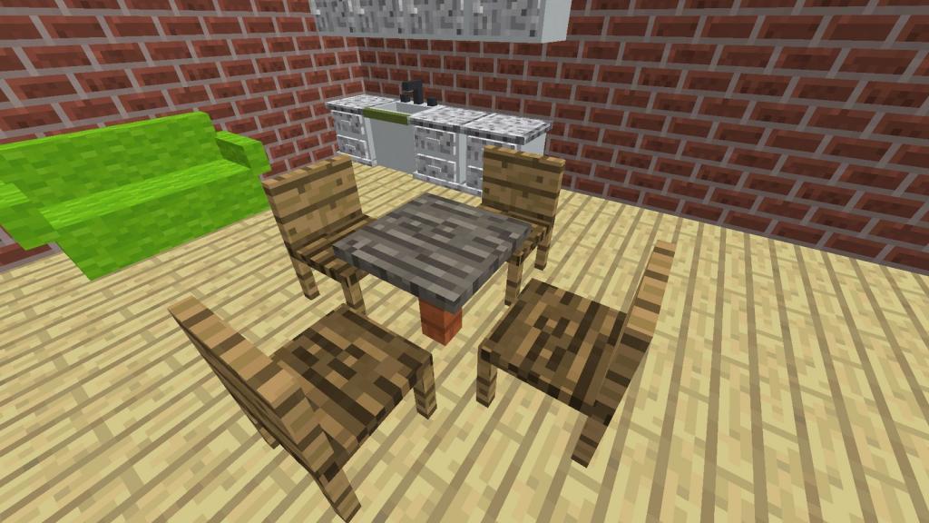 MrCrayfishs Furniture mod for Minecraft