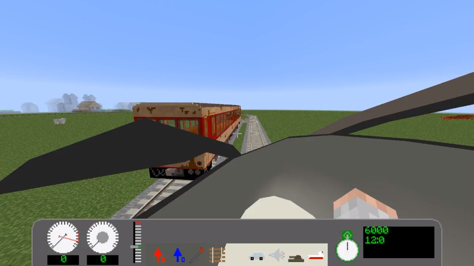 Real Train mod for Minecraft 1 12 2