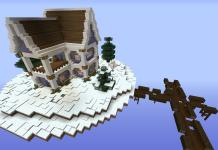 SkyRouge map for Minecraft