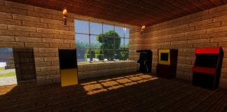 Arcade mod for Minecraft