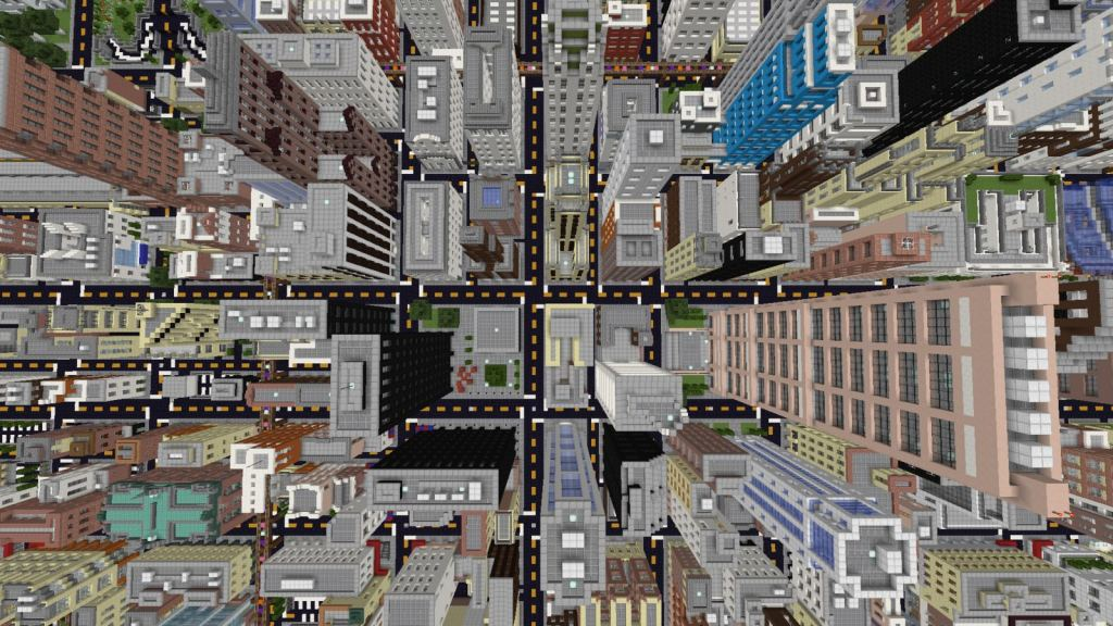 Chicago map for Minecraft 1.13.1- a huge city map for exploring