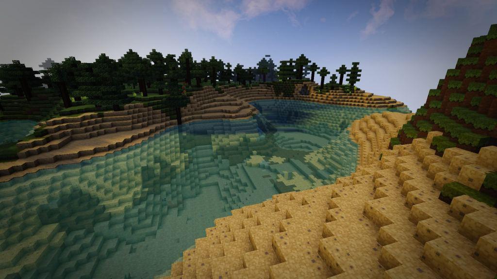 Dreamland forest Resource pack for Minecraft - screenshot 5
