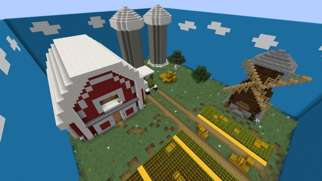 Hidden Buttons 9 map for Minecraft