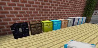 Iron Chests mod for Minecraft