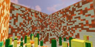 Luckyblock towers map for Minecraft