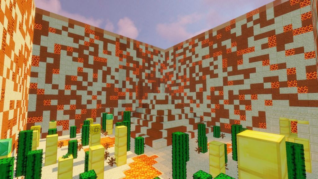 Luckyblock Towers map for Minecraft 1 13 1 - place lucky