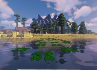 Parkour Island map for Minecraft