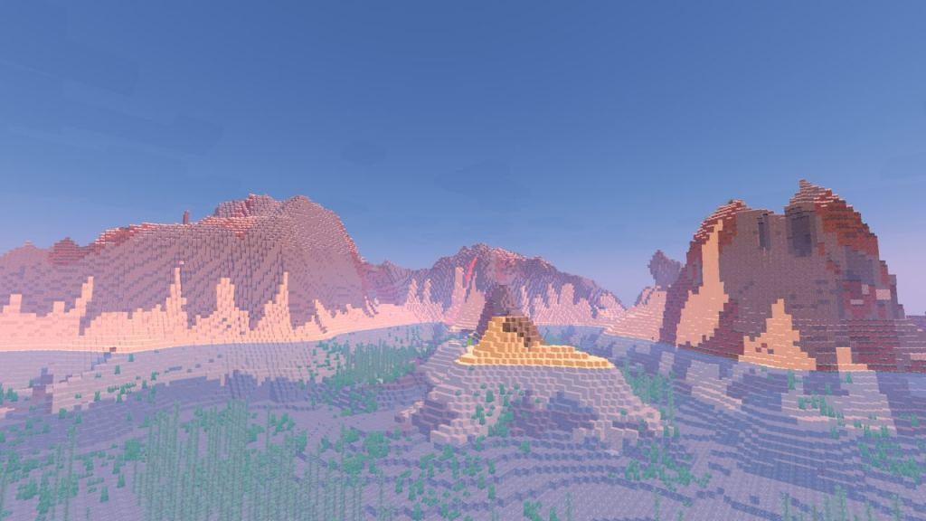 SFLP Shaders pack for Minecraft