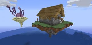 SkyBlock Advanced map for Minecraft